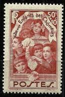 "FR YT 312 "" Enfants Des Chômeurs "" 1936 Neuf** - Frankreich"