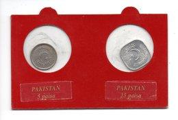 PAKISTAN . 5 PAISA 1989 & 25 PAISA 1996 - Réf. N°2B - - Pakistan