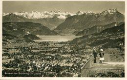 SWITZERLAND - Aussicht Vom Sonnenberg Bei Luzern - RPPC - LU Lucerne