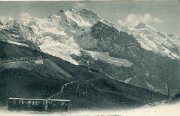 SWITZERLAND -  Jungfraubahn Und Die Jungfrau - VG Mountain Railway - Funiculaires