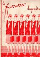 La Femme D'aujourd'hui - Suisse Romande - Revue Bimensuelle Féminine No 35 - 15 Juin 1927 - Lausanne - 20 Pages-Mode - Books, Magazines, Comics