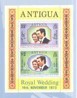Michel #   Block 10   **   Royal Wedding - Antigua And Barbuda (1981-...)