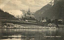 ENGELSKE KIRKE I BALHOLM  NORWAY NORUEGA  NORGE NORVEGE - Noruega