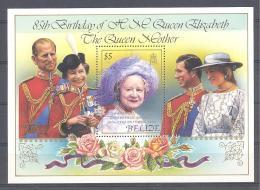 Michel #  Block  69  **    Queen Mother Elizabeth II - Belize (1973-...)