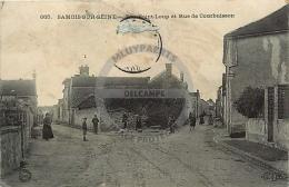/! 4546 - CPA/CPSM  :  77 - Samois : Rue Saint Loup Et Rue De Courbuisson - Samois
