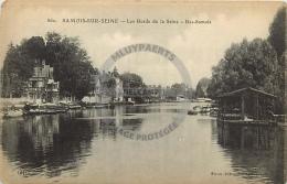 /! 4550 - CPA/CPSM  :  77 - Samois : Les Bords De La Seine, Bas-Samois - Samois