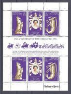 Michel #  238 - 40  **  Kleinbogen Elizabeth II - Tristan Da Cunha