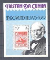 Michel #  Block 10  **  Rowland HILL  1795 - 1879 - Tristan Da Cunha