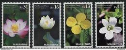 Mauritius (2016) - Set -   /  Blumen - Flowers - Fleurs - Flores - Fiori - Orchidees - Orchids - Orquideas - Orchideeën