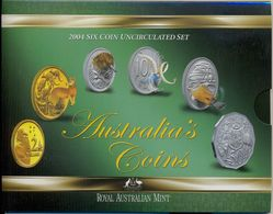Australian's Coins - 2004 - 6 Coin Uncirculated Set - Mint Sets & Proof Sets