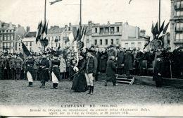 N°61244 -cpa Remise Du Drapeau Au Premier Corps D'infanterie Belge- Ville De Dieppe- - Guerre 1914-18