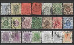 5Ez-658:restje Van  21 Zegels: Hongkong ... Diverse:..om Verder Uit Te Zoeken.. - Hong Kong (...-1997)
