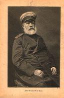 Fuerst Bismarck Im Bart / Druck, Entnommen Aus Kalender / 1884 - Books, Magazines, Comics