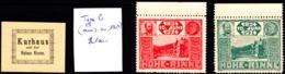 ROMANIA Hotelpost HOHE RINNE Local Stamps - Rumänien