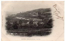 Nièvre - CHATEAU-CHINON - La Gare - Dos Simple - Chateau Chinon
