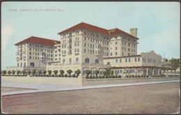 Hotel Virginia, Long Beach, California, C.1910 - Benham Indian Trading Co Postcard - Long Beach
