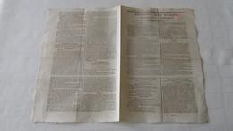 JOZEF ANTONI PONIATOWSKI , HEROS DE LA POLOGNE ( Journal Des Debats De 1816.) - Journaux - Quotidiens