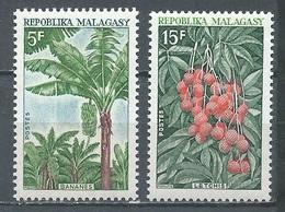 Madagascar YT N°465/466 Fruits Neuf ** - Madagascar (1960-...)
