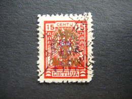 Lietuva Lithuania Litauen Lituanie Litouwen # 1926 Used # Mi. 261 - Lithuania