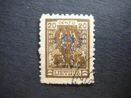 Lietuva Lithuania Litauen Lituanie Litouwen # 1926 Used # Mi. 262 - Lithuania