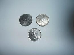 Francia Lotto 3 Monete Da 5 Francs - France