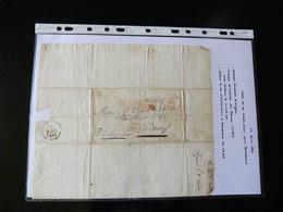 LETTRE DE MARTINIQUE POUR BORDEAUX   1829  AVEC CACHET PAYS D'OUTRE MER - 1801-1848: Precursors XIX