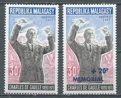 Madagascar YT N°489-502 Général De Gaulle Et Surchargé Mémorial Neuf ** - Madagascar (1960-...)