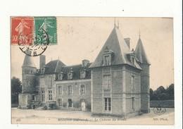 14 MEZIDON LE CHATEAU DE BREUIL CPA BON ETAT - France