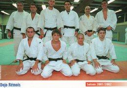 51 - DOJO REMOIS- Saison 2001/2002 - Martiaux