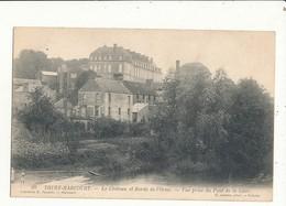 14 THURY HARCOURT LE CHATEAU ET BORDS DE L ORNE CPA BON ETAT - Thury Harcourt