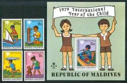1979 Maldive Infanzia Childhood Enfance MNH** Ye136 - Maldives (1965-...)