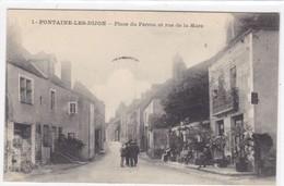 Côte-d'Or - Fontaine-les-Dijon - Place Du Perron Et Rue De La Mare - Altri Comuni