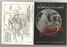Régionalisme , Midi Pyrénées , 46 , Lot ,LES GROTTES DE LACAVE , Ed. Braun & Cie, 3 Scans , 32 Pages ,frais Fr 2.65 E - Midi-Pyrénées
