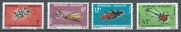 Madagascar YT N°420/421 Et 427/428 Insectes Neuf ** - Madagascar (1960-...)