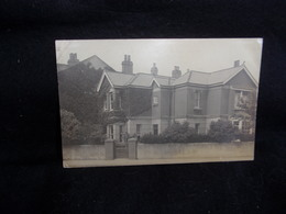 Royaume - Uni .Sussex . Worthing. House . Carte Photo . Tirage Privé  .Voir 2 Scans . - Worthing