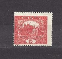 Czechoslovakia Tschechoslowakei 1919 MH * Mi 26 B Sc 27 Hradcany Perf., Hradschin Gez. K 11 ¾. - Tschechoslowakei/CSSR