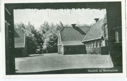 """Harskamp 1957; Int. Jeugdcentrum """"De Harscamp."""" Doorkijk Op Binnenplaats - Gelopen. (Eigen Uitgave) Lees Info! - Nederland"""
