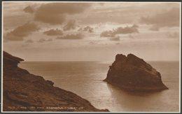 St Meachard Rock, Boscastle, Cornwall, C.1920s - Judges RP Postcard - England