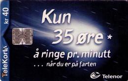 TARJETA TELEFONICA DE NORUEGA. N-151 (062) - Noruega