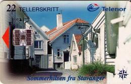 TARJETA TELEFONICA DE NORUEGA. N-124 (063) - Noruega
