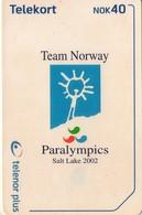 TARJETA TELEFONICA DE NORUEGA. N-236 (067) - Noruega