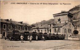 CPA Grenoble- Caserne Du 18e Génie Télégraphiste- Le Pigeonnier (668221) - Grenoble