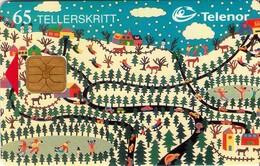 TARJETA TELEFONICA DE NORUEGA. N-104 (070) - Noruega