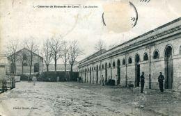 N°61253 -cpa Caen -quartier De La Remonte-les écuries- - Caen
