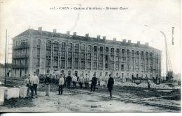N°61260 -cpa Caen -caserne D'artillerie- - Caen