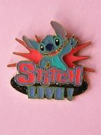STITCH Live - Dim : 46x44 Mm , Disney , Bd - Disney
