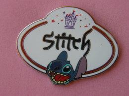 STITCH Name Tag - Dim : 45x36 Mm , Disney , Bd - Disney