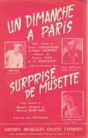 Un Dimanche à Paris + Surprise De Musette (H Lemarchand, A Gronnier, G Jean, J Nomdedeu, M. Geney, M Saint-Paul) - Musique & Instruments