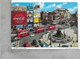 CARTOLINA VG REGNO UNITO - LONDRA - Piccadilly Circus - 10 X 15 - ANN. 1969 - Piccadilly Circus