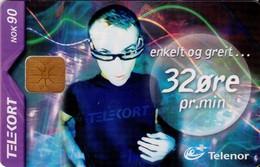 TARJETA TELEFONICA DE NORUEGA. N-191 (080) - Noruega